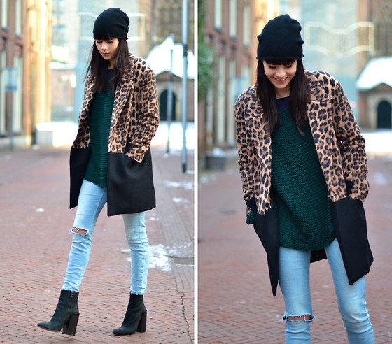 Lucy De B. - Leopard Coat - Spring, Please Hurry