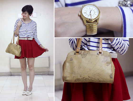 Bea Benedicto - Tommy Hilfiger Watch, Atlas Bag - Cruisin'
