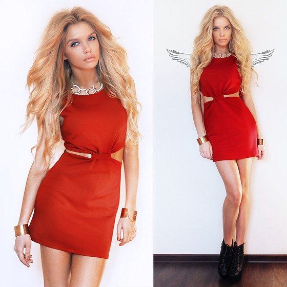 Ekaterina Normalnaya - In Love With Fashion Red Dress - я не покраснела? нет?