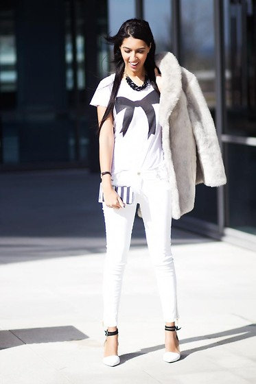 Sissy a la Mode - Zara T Shirt - Total white