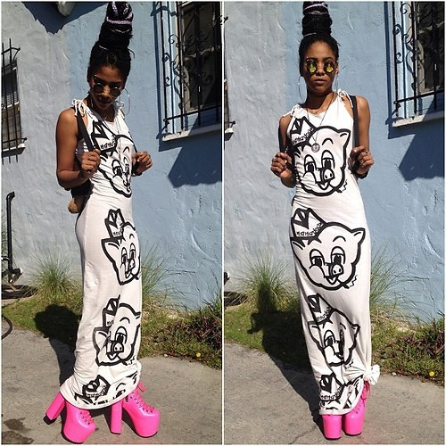 Robyn The Bank - Mamadoux Piggly Wiggly Gown, Unif Hellbounds - Piggly Wiggly