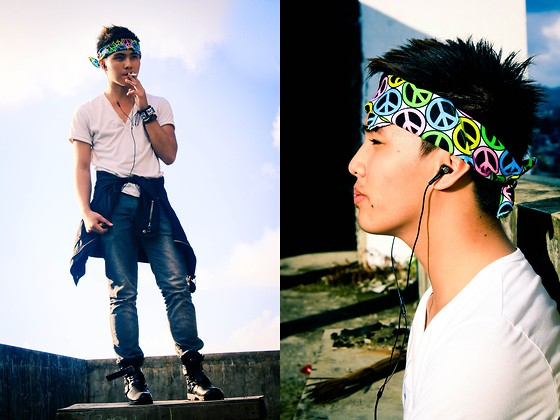 Kojin Domingo - Sm Accessories Bandana, Levi's® Pants - Street 101