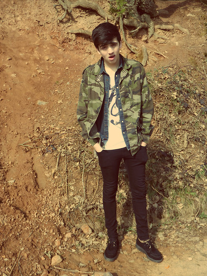 Melik D - Brothers Creepers, Primark Camouflage Jacket - TILL THE WORLD ENDS