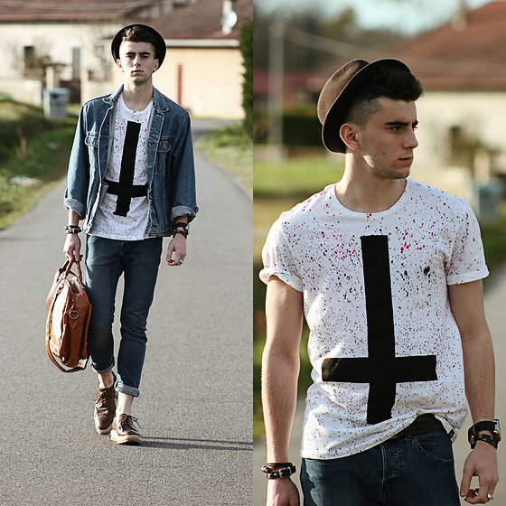 Clément Lasserre - Sinstar Tee, Modekungen Bag - Cross the line