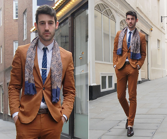 Adrian Cano - Suit, Scarf, Tie, Shirt, Belt, Loafers - Mayfair