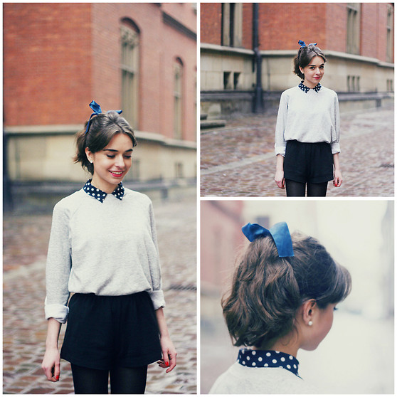 Weronika Zalazinska -  - Hair bows and collars