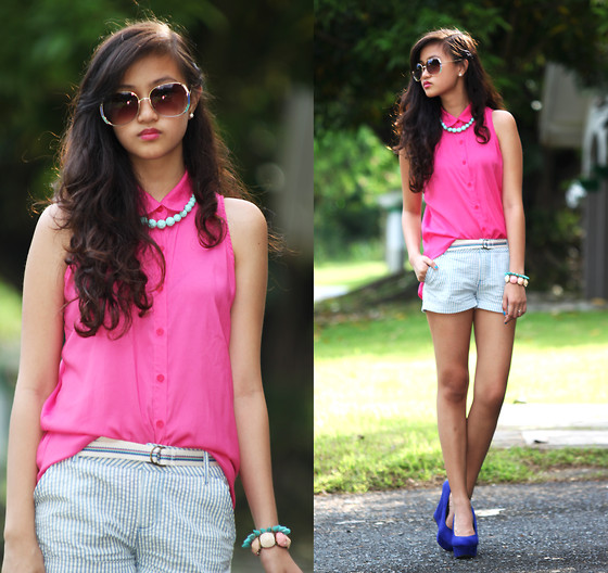 Mika Garcia - Forever 21 Shorts, Forever 21 Belt, Ever New Sunnies - All to Myself