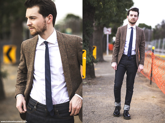Ben Galbraith - Www.Merrinandgussy.Com, Asos Blazer, Shirt, Jack London Jeans - The Last Day on Earth