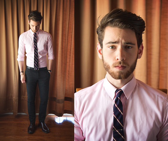 Edward Honaker - Bespoken Shirt, H&M Pants, Merrin And Gussy Tie Bar - Sup haters