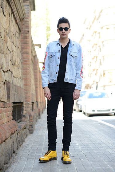 Pedro Soley - Joy Rich Jacket, Cheap Monday Pants, Dr. Martens Shoes, H&M T Shirt - STREET STYLE - LOS ANGELES