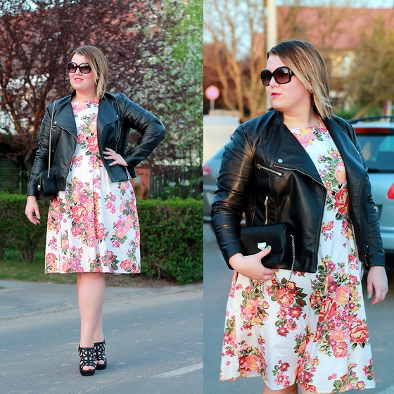 Judit Gergely - H&M Leather Jacket - Between spring and summer