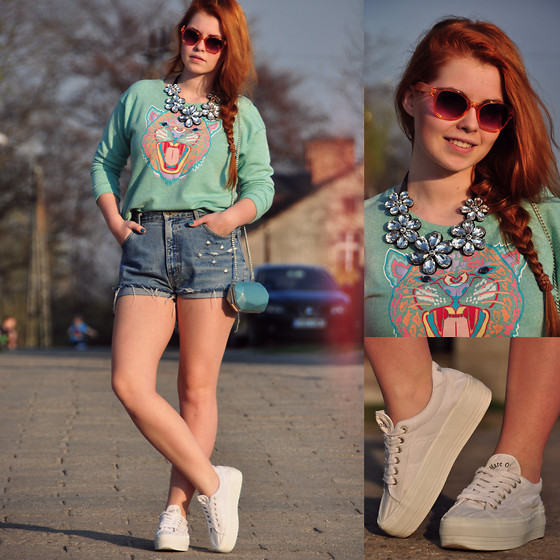 Inez Oszek - Marc O'polo Shoes, House Of Mima Necklace, H&M Sunglasses, H&M Bag - Tiger in May!