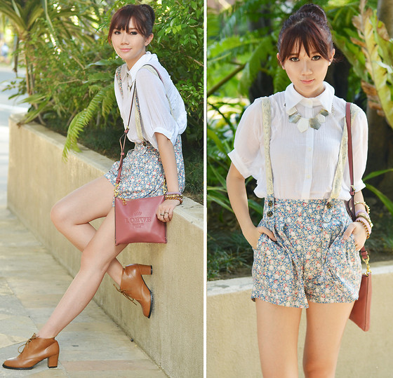 Camille Co - Mina Uk Top, Ministry Of Retail Shoes, Island Girl Necklace - Farm Girl