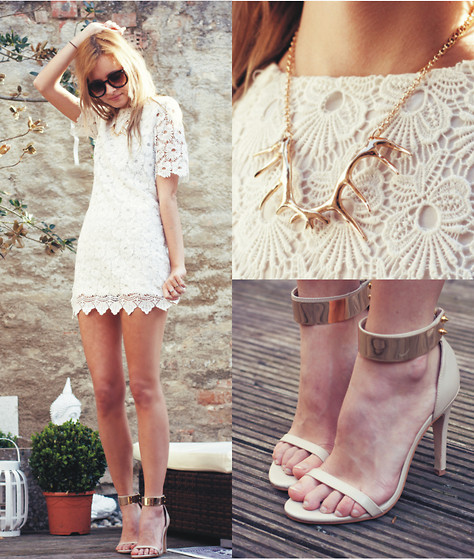 Daisy R. - Chic Wish Crochet Dress, Merrin&Gussy Necklace - Make a Wish