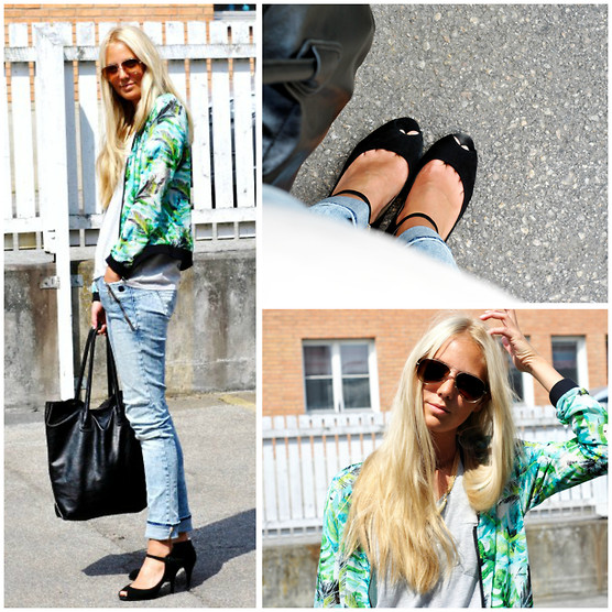 Kajsa Svensson - Vila Jacket, Pieces Bag, Ecco Shoes - Get out of here