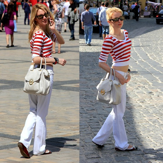 Lise Kapris - Maison Martin Margiels Pants, Ck Top, Michael Kors Bag - Where there's a will - there's a way!!