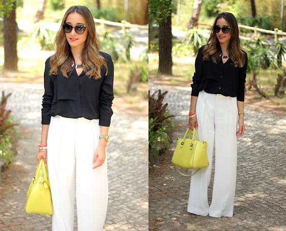 pala realce antiguo  Besugarandspice FV - Zara Trousers, Zara Bag - Palazzo Trousers | LOOKBOOK