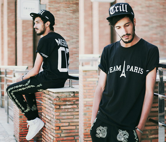 Mohcine Aoki - Misbhv Trill, Misbhv Team Paris, Zealotries Baggy, Nike Af1 - Whole world to someone