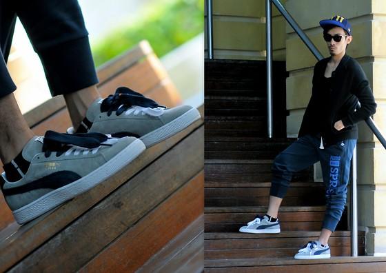 Ushi Sato - Puma Shoes, Puma Sweat