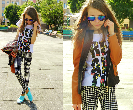 Agnieszka W - Shoesday.Pl Trainers, Gofavor Leggings, Goodlookin Outwear, Zeruv Sunglasses - Colorful.