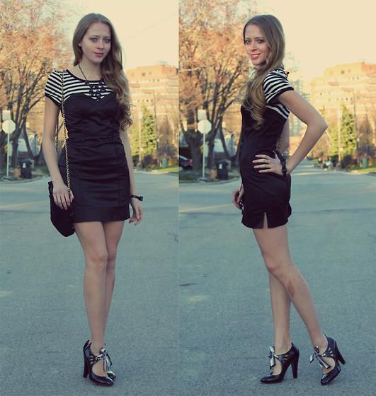 Striped Dress, Betsey Johnson Mary Jane