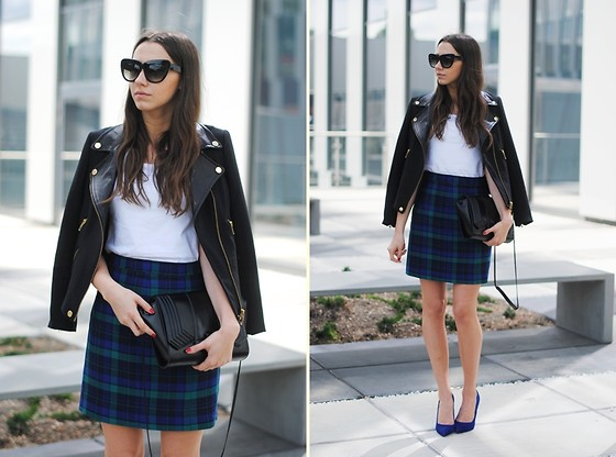 Patrycja R -  - CHECKED SKIRT