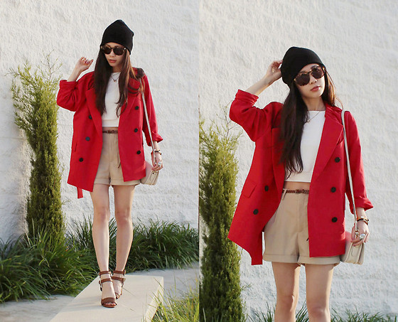 Elsa L - 3.1 Phillip Lim Trench Coat - Red trench