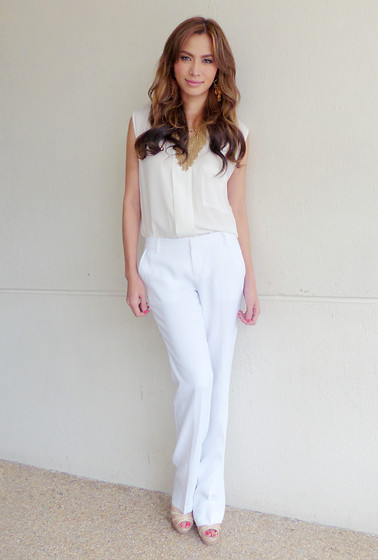 Divine Lee - Suite Blanco Top, Stefanel Pants, Sm Accessories - D in Tuesday's @AngLatest in #SuiteBlanco and @StefanelPH