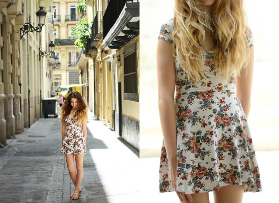 Francesca S - Brandy Melville Usa Dress, Mango Sandals - Everything that drowns me makes me wanna fly