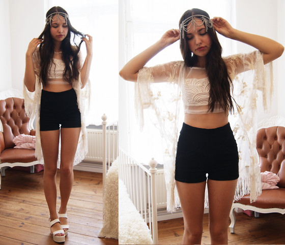 Diana K - Popcouture Crop Top - Headpiece//giveaway on my blog