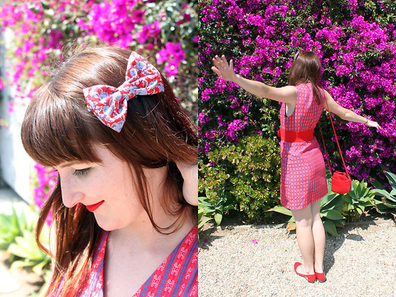 Jamie Shields - Vintage Dress, Handmade Bow - Ch-Ch-Changes