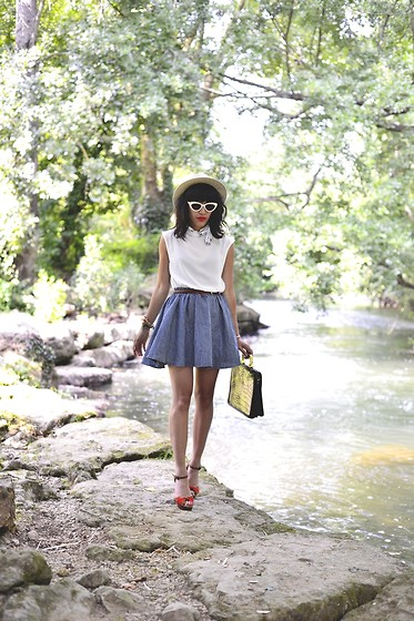 Leeloo P - Choies Dress, Hat Vintage, Asos Shoes, Bag Vintage - Into The wild ♥♥