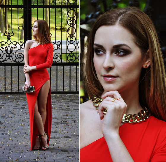 Karina P. - Asos Shoes, Zara Bag - Lady in red