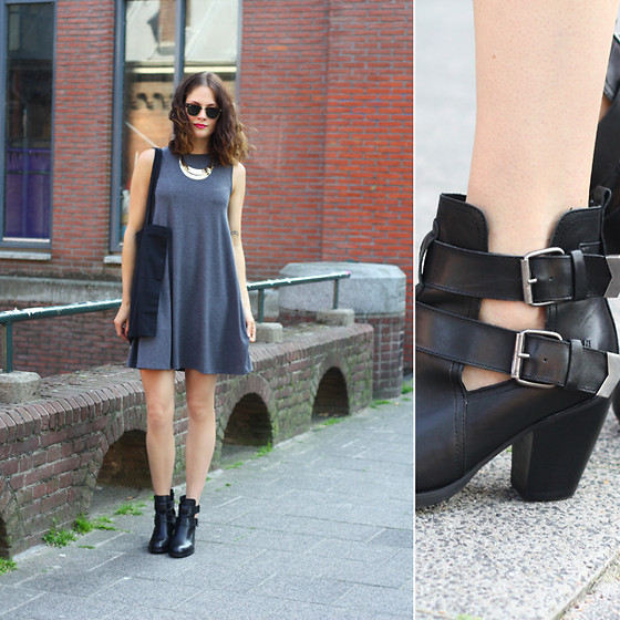 Renée Sturme - Asos Dress, Sacha Shoes - Buckled