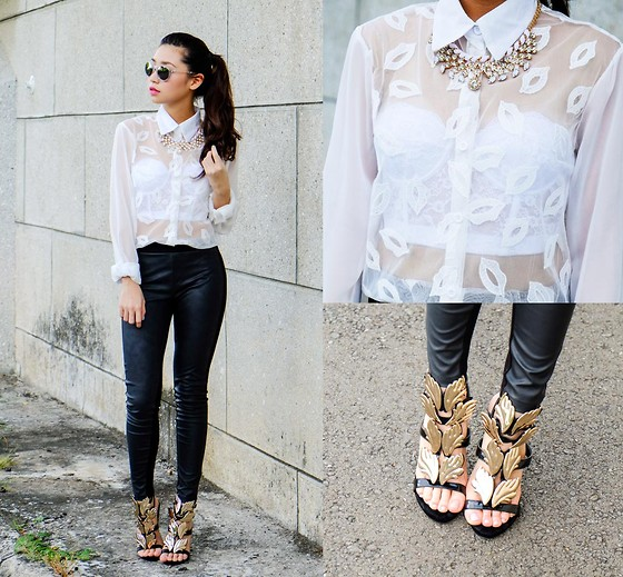 Kryz Uy - Wagw Top, Wagw Necklace, Choies Shoes - Kiss Me (+ JABRA International Giveaway on my blog!)