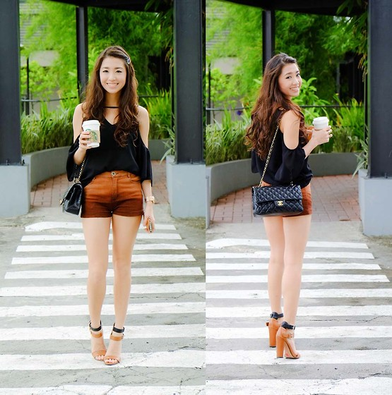Kryz Uy - Runway Dreams Top, Megagamie Shorts - Fade Out