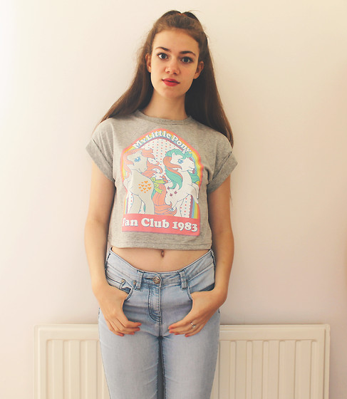 Lois H - Primark Crop Top, Next Jeans - ♡ My Little Pony ♡