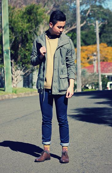 Jerome Centeno Asos Vintage Style Zara Skinny Jeans
