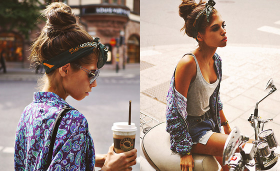 Caroline Roxy - Glasses, Get The Clothes: - Riding through town // CAROLINEROXY.SE