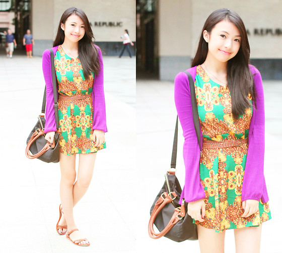 Sophie Ramos - Tempta Ions Dress - Barney