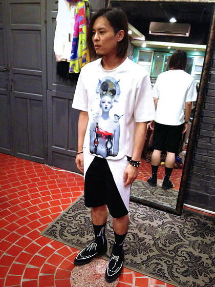 Hipsterken P - 3d T Shirt, Sevenfold Letter Serise Short Pant, 4 Eyes, Underground Creeper, Studded Leather - Alternative rock