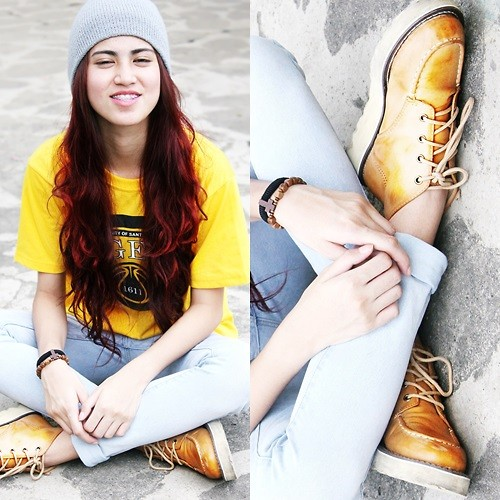 Jennica Sanchez - Primadonna Booties - Yellow Day