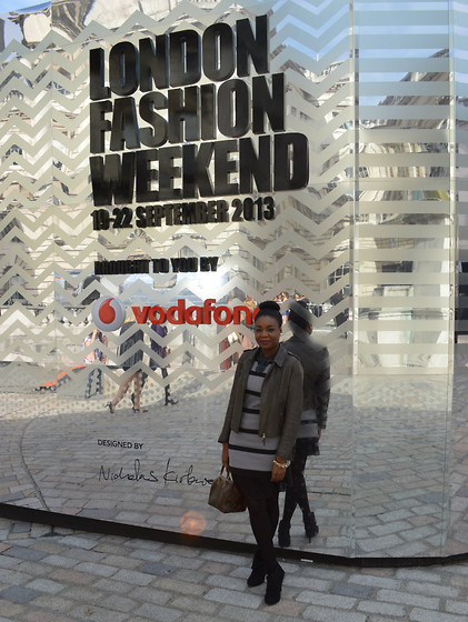 Laura C - Topshop Dress - StylishVue goes to London Fashion Weekend