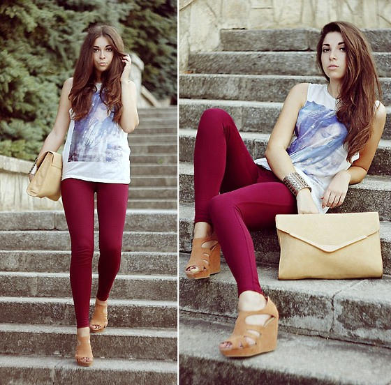 Viktoria Vasilenko - Zara Top, New Look Leggins, Zara Clutch, Forever 21 Bracelet - Jack Johnson – My Little Girl