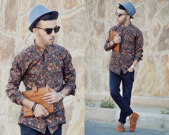 Faissal Yartaa - Zara Flower Shirt, Zara Black, H&M Vintage, Gucci Grey - Thinking Of You