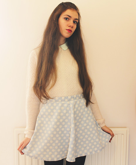 Lois H - H&M Blouse, New Look Jumper, Topshop Skirt - The city is my church ♡