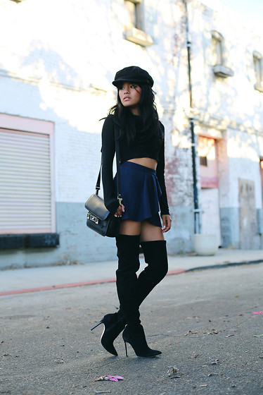 Olivia Lopez - Alice + Olivia Over The Knee Boots - Over the Knee