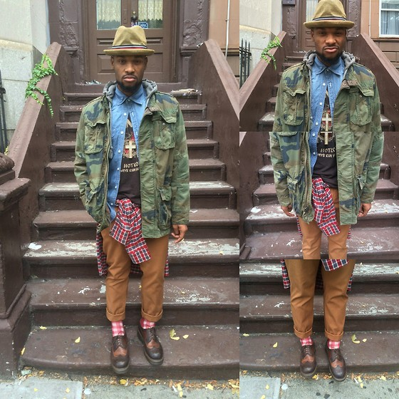 Askia Abdull - American Eagle Jacket, Dr. Martens Boots - Layer Deep