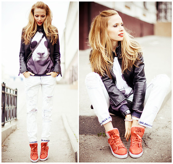 Tini Tani - Sweater, Zara Jeans, Chanel Bag, Diesel Watch - Mr.Gugu + Chanelboy