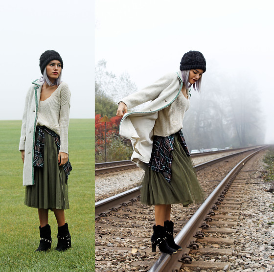 From Olive To Emerald Explore The: Xander Vintage Wool Coat, Amika Flannel